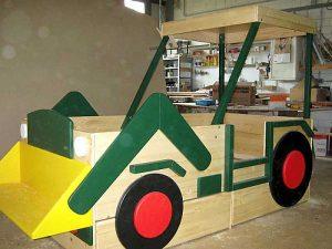 Kinderzimmer - Treckerbett